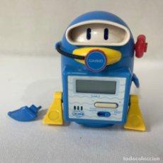 Despertadores antigos: RELOJ DESPERTADOR CASIO ROBOT ACTION AC-200. Lote 293634518