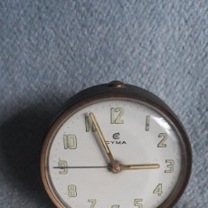 Despertadores antiguos: RELOJ DESPERTADOR SUIZO CYMA. Lote 293819328