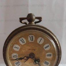 Despertadores antiguos: RELOJ DESPERTADOR ALEMAN BLESSING, NO ESTA PROBADO. Lote 294047458