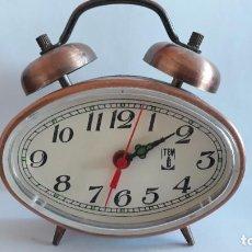 Despertadores antiguos: RELOJ DESPERTADOR TEM .NO ESTA PROBADO.. Lote 294431428