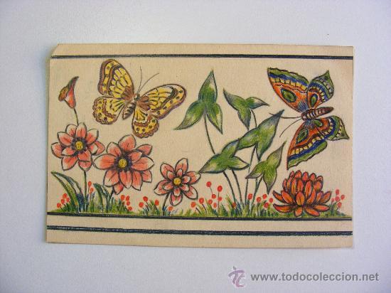 Pintar Cenefa Cocina | Cenefas Cenefa Pintada Y Dibujada A Mano Para Comprar Dibujos