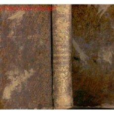Diccionarios antiguos: 1859.TODO PIEL.DICCIONARIO FRANCES ESPAÑOL . Lote 27485764