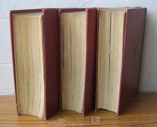 Diccionarios antiguos: 3 tomos DICCIONARIO ENCICLOPÉDICO ABREVIADO ....Espasa Calpe Madrid 1935 - Foto 3 - 27481118