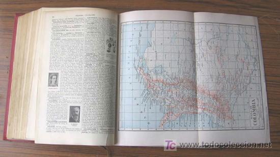 Diccionarios antiguos: 3 tomos DICCIONARIO ENCICLOPÉDICO ABREVIADO ....Espasa Calpe Madrid 1935 - Foto 5 - 27481118