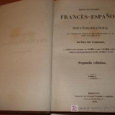 Diccionarios antiguos: DICCIONARIO ESPAÑOL-FRANCES. NUÑEZ DE TABOADA. AÑO 1842. IMPRENTA ANTONIO BERGNES Y COMPAÑIA.2 TOMOS. Lote 27440104