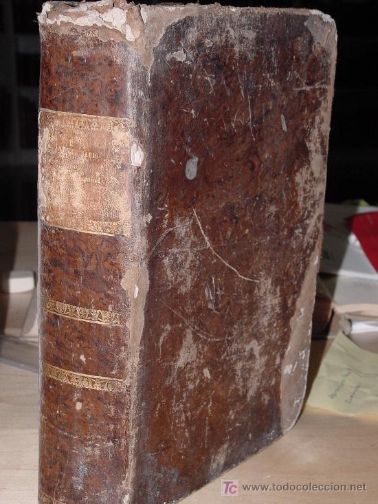 1853.- DICCIONARIO LATINO ESPAÑOL. VALBUENA REFORMADO (Libros Antiguos, Raros y Curiosos - Diccionarios)