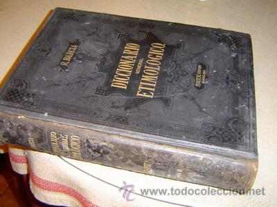1880 DICCIONARIO GENERAL ETIMOLOGICO DE ROQUE BARCIA TOMO II (Libros Antiguos, Raros y Curiosos - Diccionarios)