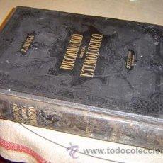 Diccionarios antiguos: 1880 DICCIONARIO GENERAL ETIMOLOGICO DE ROQUE BARCIA TOMO II. Lote 27424636