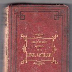 Diccionarios antiguos: DICCIONARIO ABREVIADO DE LA LENGUA CASTELLANA POR L. CAMPANO. LIBRERIA GARNIER HERMANOS. PARIS 1882. Lote 16042618