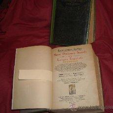 Diccionarios antiguos: ENCICLOPEDIA SOPENA. NUEVO DICCIONARIO ILUSTRADO. 1935. 2 TOMOS. ARGENTINA VER FOTOS ADICIONALES. Lote 25035692