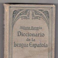 Diccionarios antiguos: DICCIONARIO DE LA LENGUA ESPAÑOLA. ATILANO RANCES. 1935.. Lote 18621183