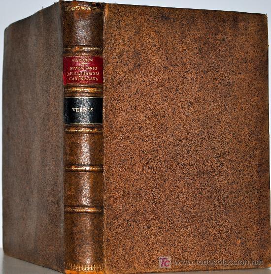 1879.- INVENTARIO DE LA LENGUA CASTELLANA. ÍNDICE IDEOLÓGICO DEL DICCIONARIO DE LA ACADEMIA... (Libros Antiguos, Raros y Curiosos - Diccionarios)