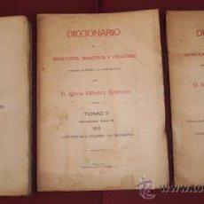 Diccionarios antiguos: DICCIONARIO DE ESCRITORES, MAESTROS Y ORADORES NATURALES DE SEVILLA Y SU ACTUAL PROVINCIA 3T EN 1922. Lote 24153454