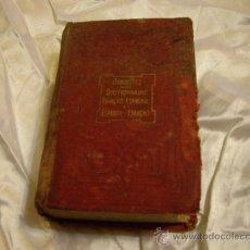 Diccionarios antiguos: DOMINGUEZ COMPENDIADO- 1880. Lote 27547761