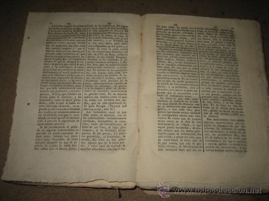 Diccionarios antiguos: DICCIONARIO DE CIENCIAS MEDICAS POR UNA SOCIEDAD DE LOS MAS CELEBRES PROFESORES DE EUROPA TOMOII.182 - Foto 12 - 24918372