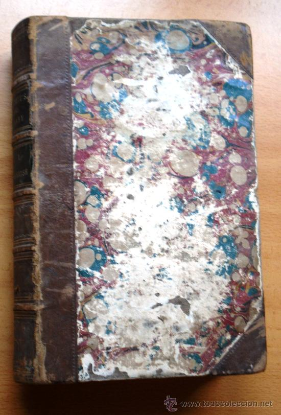 Diccionarios antiguos: DICTIONARY OF THE SPANISH AND ENGLISH LANGUAGES - VOL I - M.SEOANE - SPANISH-ENGLISH - S. XIX - Foto 2 - 26803846