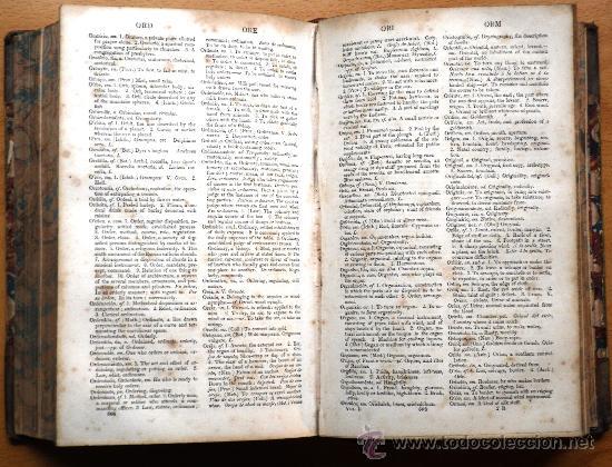 Diccionarios antiguos: DICTIONARY OF THE SPANISH AND ENGLISH LANGUAGES - VOL I - M.SEOANE - SPANISH-ENGLISH - S. XIX - Foto 4 - 26803846