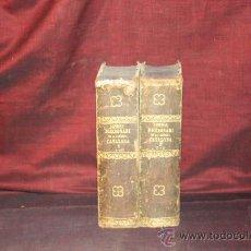 Diccionarios antiguos: 1866- DICCIONARIO DE LA LENGUA CATALANA.EST. V. PLA. 1839. 2 VOL.. Lote 25597212