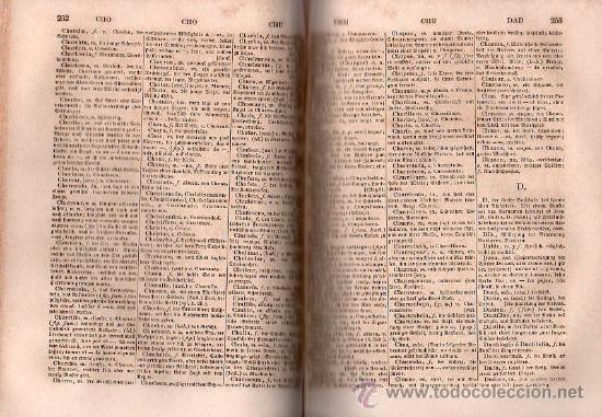 Diccionarios antiguos: NUEVO DICCIONARIO DE LAS LENGUAS ESPAÑOLAS Y ALEMANA POR FRANCESON - DOS TOMOS - Foto 2 - 25707174