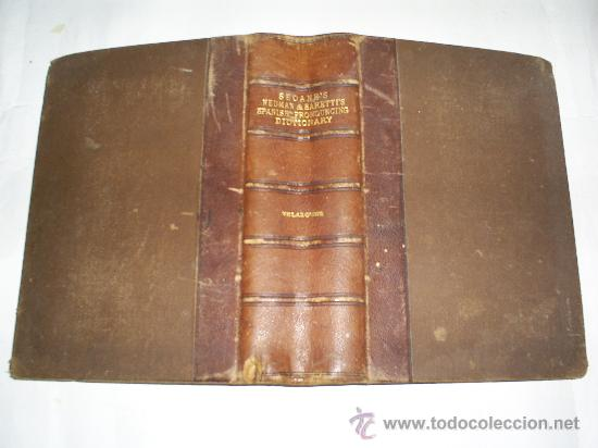 A PRONOUNCING DICTIONARY OF THE SPANISH AND ENGLISH LANGUAGES APPLETON AND COMPANY 1899 RM50987-V (Libros Antiguos, Raros y Curiosos - Diccionarios)