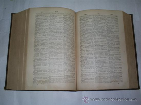 Diccionarios antiguos: A Pronouncing Dictionary of the Spanish and English Languages Appleton and Company 1899 RM50987-V - Foto 4 - 27404350