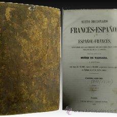 Diccionarios antiguos: 1850 - DICCIONARIO FRANCES-ESPAÑOL DE TABOADA - PIEL . Lote 27717054
