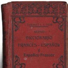 Diccionarios antiguos: NUEVO DICCIONARIO ESPAÑOL-FRANCÉS Y FRANCÉS-ESP. J. DARBAS Y J.U. IGON. TOLOUSE, EDUARDO PRIVAT,1906. Lote 29143572
