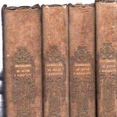 Diccionarios antiguos: DICCIONARIO DE ARTES Y MANUFACTURAS, FRANCISCO DE P.MELLADO, 4 TOMOS, MADRID, TIP. MELLADO, 1856. Lote 29758898