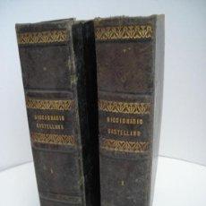 Diccionarios antiguos: DICCIONARIO CON DOS VOLUMENES COMPLETOS DE LENGUA CASTELLANO AÑO 1866. Lote 30284838