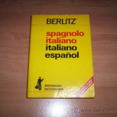 Libri antichi: ESPAÑOL- ITALIANO. Lote 31202618