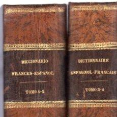 Diccionarios antiguos: DICCIONARIO LENGUAS ESPAÑOLA Y FRANCESA,NEMESIO FERNÁNDEZ CUESTA,4TMS,2 VOLS,BCN,MONTANER Y S.1885. Lote 32067900