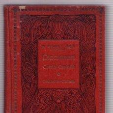 Libri antichi: 1923 DICCIONARI CATALA-CASTELLA CASTELLA-CATALA. Lote 32540651