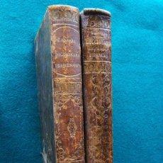 Diccionarios antiguos: NOVISIMO DICCIONARIO ESPAÑOL-COMPLETO-FRANCES(TOMO I)FRANCES-ESPAÑOL(TOMO II)-NUÑEZ DE TABOADA-1863. Lote 33153545