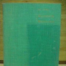 Diccionarios antiguos: DICCIONARIO MARITIMO - JOSE LUIS DE PANDO. Lote 33272493