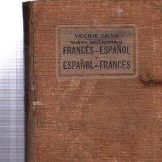 Diccionarios antiguos: VICENTE SALVA NUEVO DICCIONARIO FRANCÉS Y ESPAÑOL, GARNIER HERMANOS PARIS. Lote 34077458