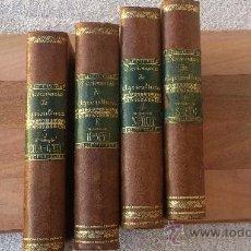 Diccionarios antiguos: DICCIONARIO ENCICLOPÉDICO DE AGRICULTURA GANADERÍA E INDUSTRIAS RURALES (TOMOS 5-6-7-8). Lote 34541136
