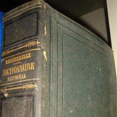 Diccionarios antiguos: DICTIONNAIRE NATIONAL DE LENGUE FRANCAISE, M.BESCHERELLE, TOME SECOND G-Z, PARIS GARNIER FRERES 1866. Lote 34987134