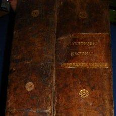 Diccionarios antiguos: DICCIONARIO NACIONAL DE LA LENGUA ESPAÑOLA DON RAMÓN JOAQUÓN DOMÍNGUEZ, 2 TMS, MADRID 1848 MELLADO. Lote 34987358