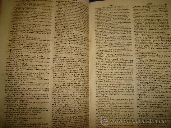 Diccionarios antiguos: DICCIONARIO UNIVERSAL LATINO ESPAÑOL, MANUEL DE VALBUENA, MADRID, IMPRENTA REAL 1833 - Foto 2 - 34987226