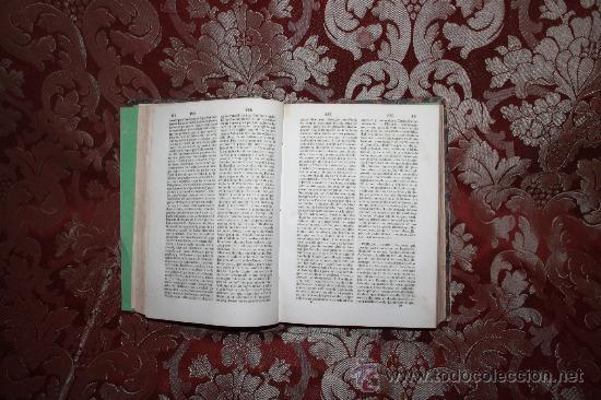Diccionarios antiguos: 5987- EL PANTEON UNIVERSAL. DICCIONARIO HISTORICO. WENCESLAO AYGUALS. IMP DE AGUALS. 1854. - Foto 2 - 35008099