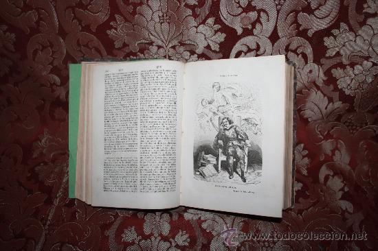 Diccionarios antiguos: 5987- EL PANTEON UNIVERSAL. DICCIONARIO HISTORICO. WENCESLAO AYGUALS. IMP DE AGUALS. 1854. - Foto 3 - 35008099