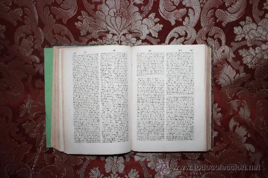 Diccionarios antiguos: 5987- EL PANTEON UNIVERSAL. DICCIONARIO HISTORICO. WENCESLAO AYGUALS. IMP DE AGUALS. 1854. - Foto 4 - 35008099