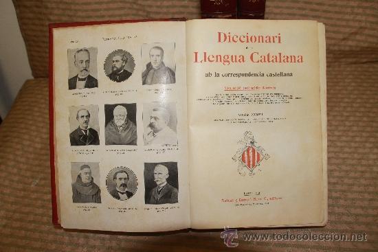 Diccionarios antiguos: 2170- DICCIONARI DE LA LLENGUA CATALANA. VV.AA. EDOT SALVAT S/F 3 TOMOS. - Foto 2 - 35064311