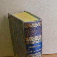 Diccionarios antiguos: DICCIONARIO CATALAN-CASTELLANO POR F. M. F. P. Y M. M. 1839.. Lote 35170646