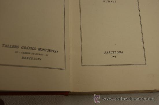 Diccionarios antiguos: Glossari de xenivs, edicio completa, en català. Volum II. 1915. - Foto 4 - 35481662
