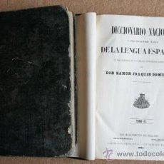 Diccionarios antiguos: DICCIONARIO NACIONAL O GRAN DICCIONARIO CLÁSICO DE LA LENGUA ESPAÑOLA. DOMÍNGUEZ (RAMÓN JOAQUÍN). Lote 36148723