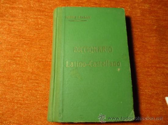 DICCIONARIO LATINO ESPAÑOL MUÑOZ ROLDAN 1921 GRANADA 273 PAGINAS (Libros Antiguos, Raros y Curiosos - Diccionarios)