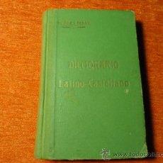 Diccionarios antiguos: DICCIONARIO LATINO ESPAÑOL MUÑOZ ROLDAN 1921 GRANADA 273 PAGINAS. Lote 36691437
