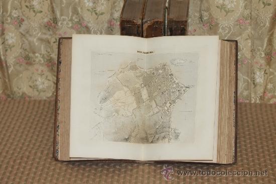 Diccionarios antiguos: 3127- NOVISIMO DICCIONARIO GEOGRAFICO. VV.AA. EDIT. LIBRERIA ESPAÑOLA. 1863/1868. 4 TOMOS. - Foto 3 - 37149507