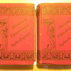 Diccionarios antiguos: DICCIONARIO ESPAÑOL- INGLÉS Y INGLÉS ESPAÑOL, PENELLA BOSCH, 1905, 9ª ED. 2 TOMOS. Lote 37313948
